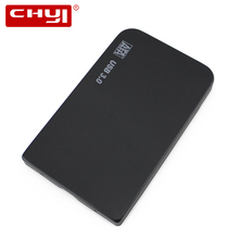 CHYI USB 3.0 HDD Case Hard Drive SATA External Enclosure for 2.5 inch Hard Disk Box with Portable Cable&Bag (Not including HDD)