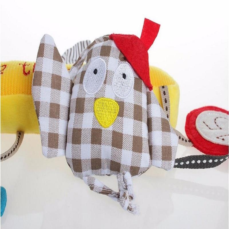 Baby Musical Crib Mobiles Leker Hanging Cartoon Toy Barnevogn Bird - Baby og småbarn leker - Bilde 2