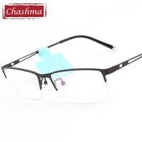 Metal Spectacles Black Eye Glasses Office Glasses Men Office Glasses Frame Optical