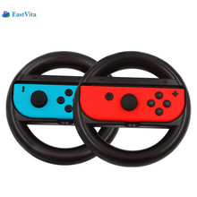 EastVita 1 Pair Racing Game Controller Steering Wheel For Nintend Switch NS Controller Gamepad Wheel Racing game gift r29