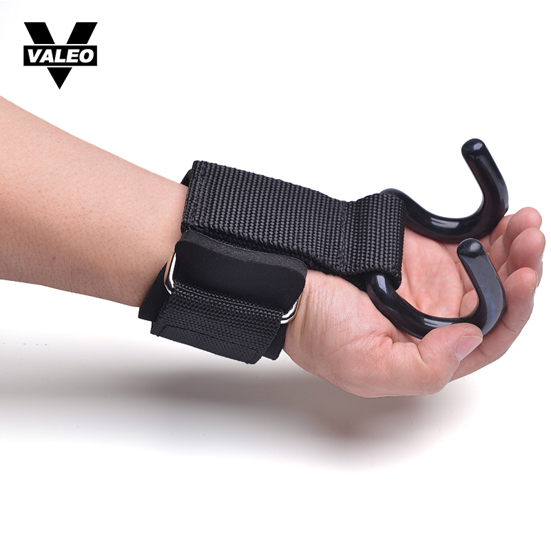 Sports & Entertainment Able 2pcs/lot Weight Lifting Hook Hand Bar Wrist Straps Glove Weightlifting Strength Training Gym Fitness Hook Support Lift Grip Belt Attractive Fashion