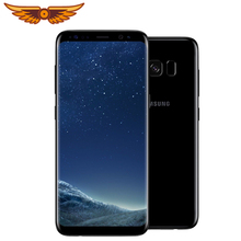 Original Samsung Galaxy S8 SM-G950U 5.8 Inches 4GB RAM 64GB ROM 4G LTE Mobile phone Single SIM 12MP 3000mAh S-series Smartphone
