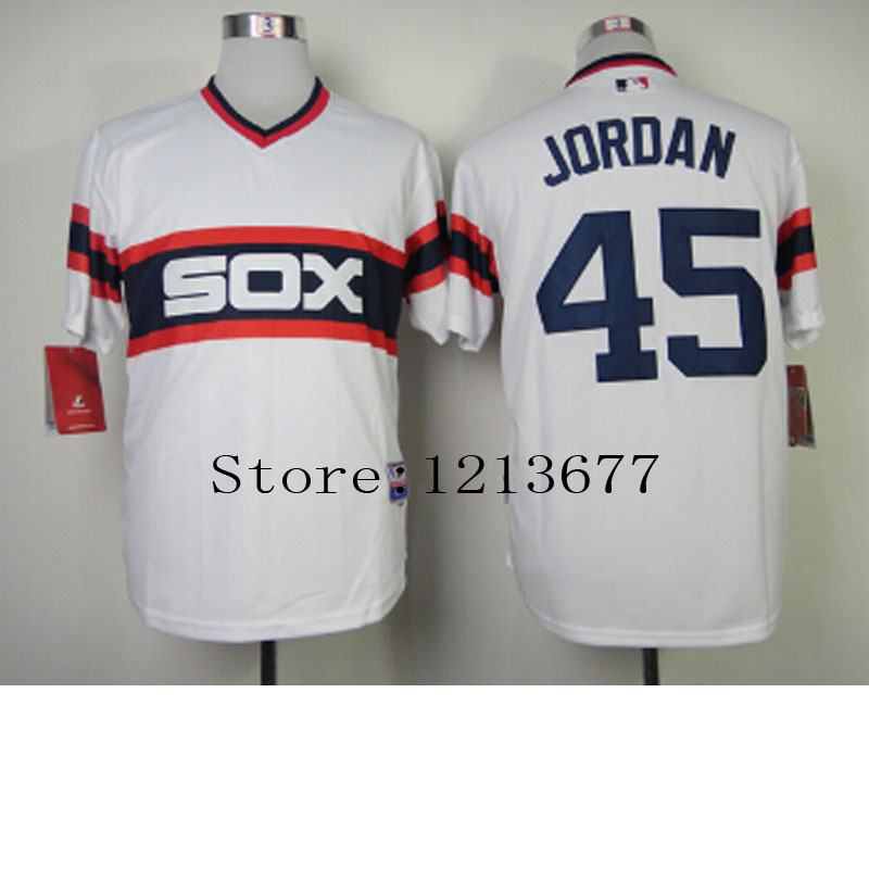 emwubb Aliexpress.com : Buy 45 Michael Jordan Jersey Chicago White Sox