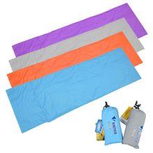 New Ultralight Outdoor Sleeping Camping Bag Liner Polyester Pongee Portable Single Sleeping Bags Camping Travel Sleep Bags V2