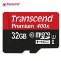 Sealed Real Transcend  32GB  MicroSD SDHC 60MB/S class 10 UHS-1 Memory Card High Speed Flash Memory Micro Card for Phone/Tablet