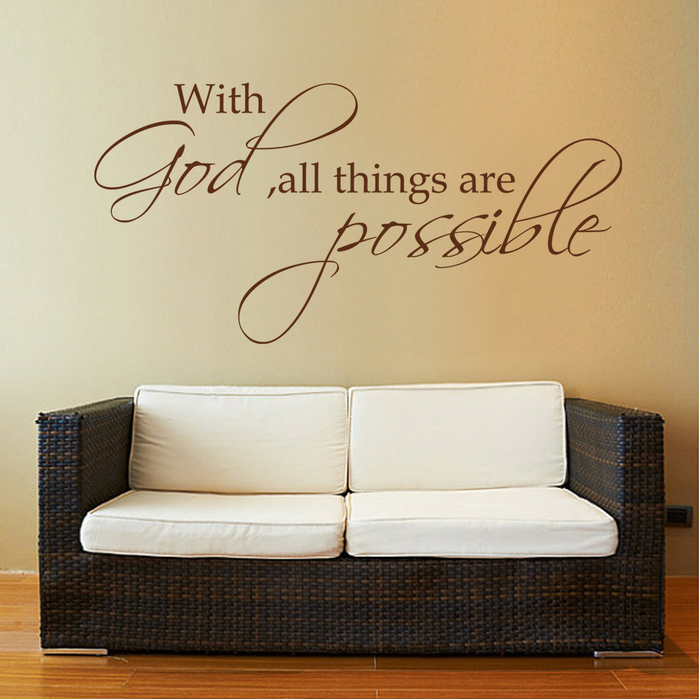 Cool 40 bible verse wall decor decorating inspiration of best 25 bible verse wall decor with god all things are possible religious wall decal bible verse amipublicfo Gallery