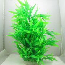 Artificial Simulation Fake Plants Aquarium Landscaping Decorations Bamboo Leaf Home Decoration