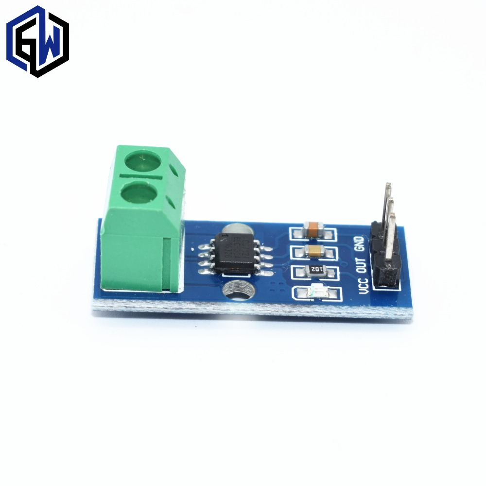 1PCS Hall Current Sensor Module ACS712 Module 5A 20A 30A Hall Current Sensor Module 5A/20A/30A ACS712