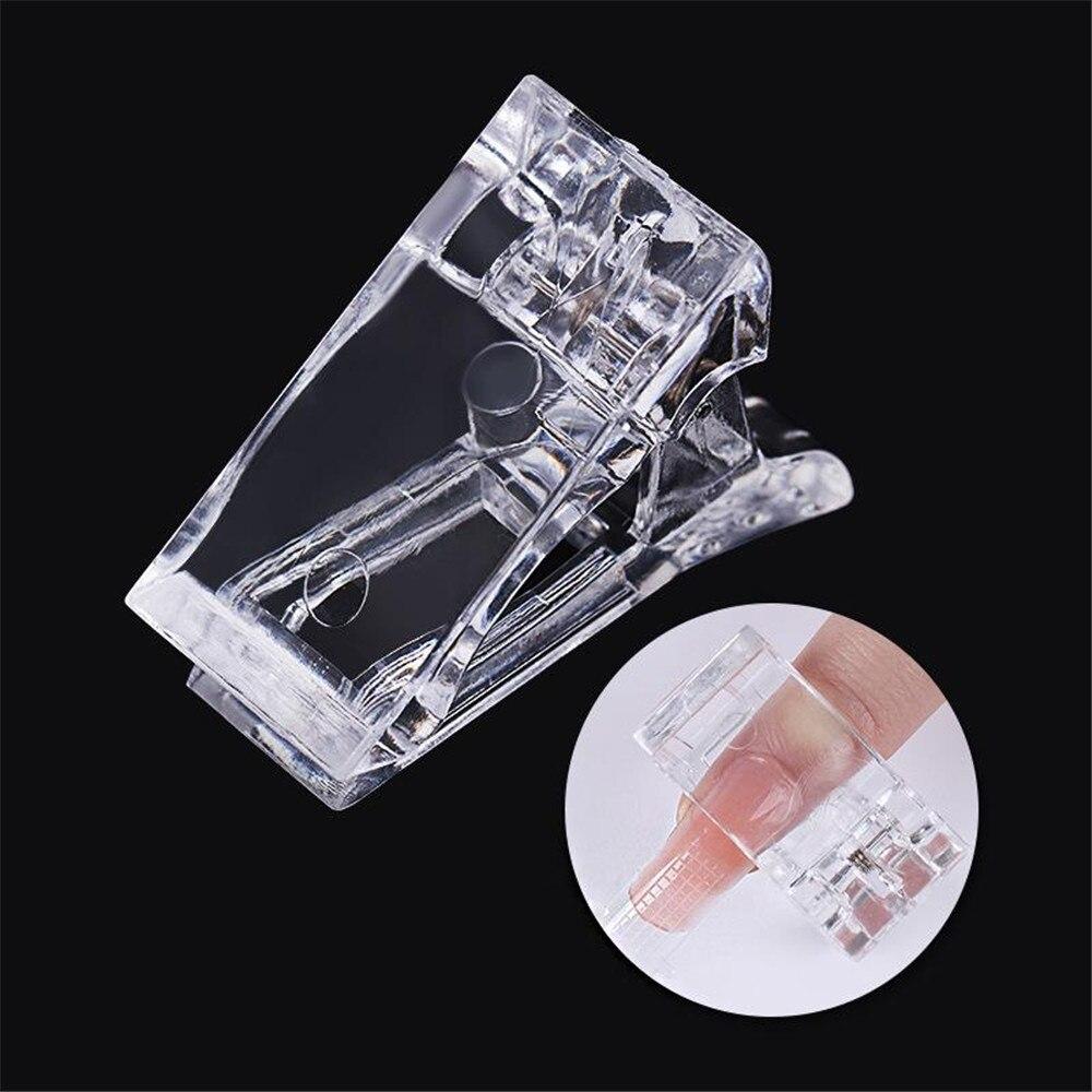 1 Pcs Fashion False Nails Fixed Clip Nail Tips Finger Extension Fixed Clip Nail Art Equipment