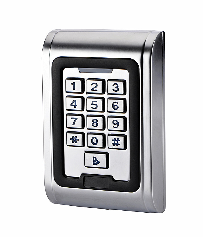RFID Card Entry Lock Door Standalone IP68 Waterproof Access Control Keypad System With Wiegand Input mini access control keypad em card wiegand 26 output input with rfid keyfobs 125khz for door lock security system