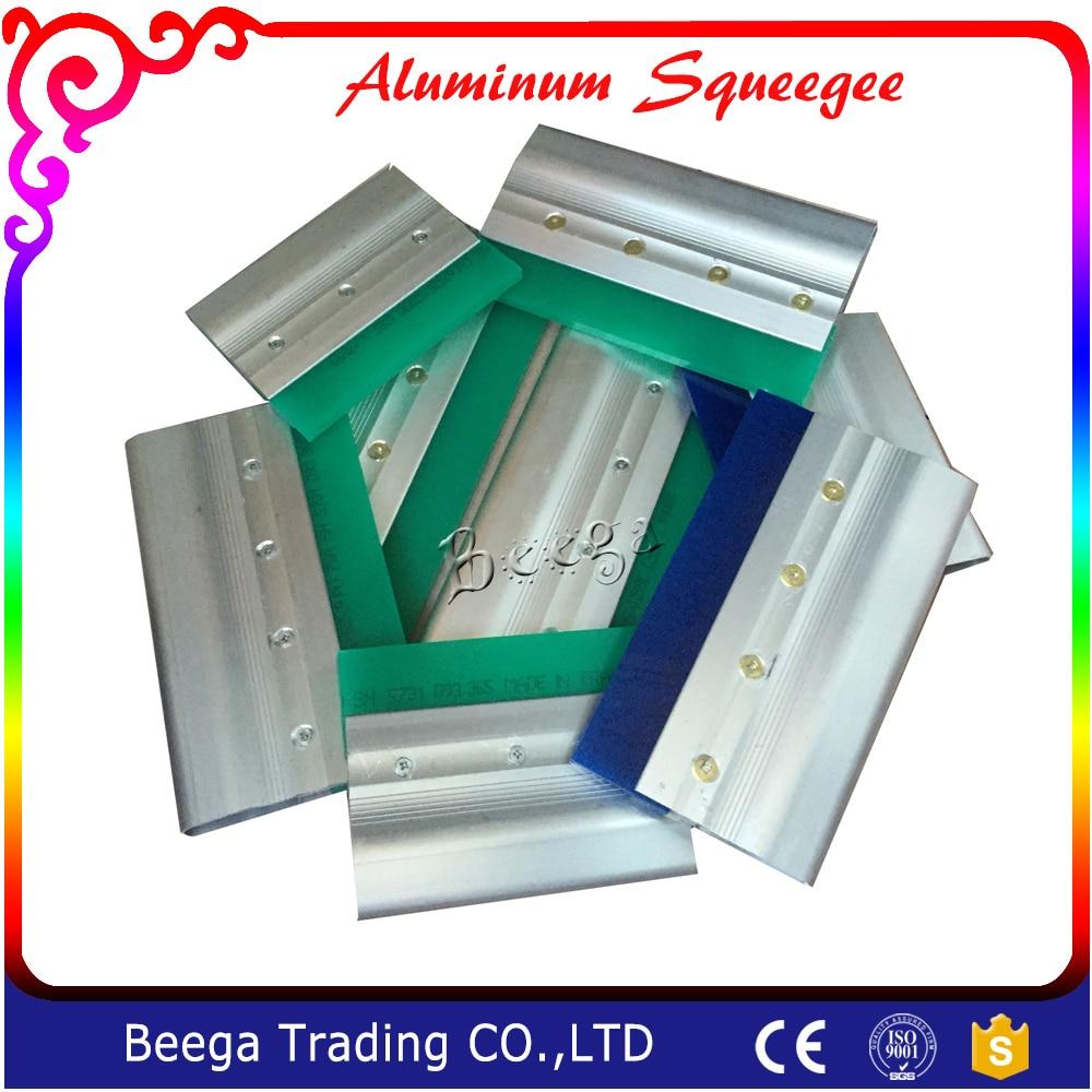 Gratis Pengiriman Aluminium Alloy Silk Screen Printing Squeegee Alat Pasang Penjepit Kain Sablon Menangani Sutra Dengan Biaya