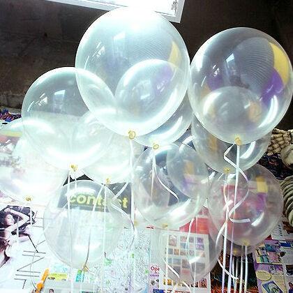 100pcs/lot 12inch 2.8g Transparent Balloons