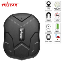 Car GPS Tracker Waterproof IP65 5000mAh Truck Car Locator TKSTAR TK905 90 Days Standby Powerful Magnet Lifetime Free APP Web