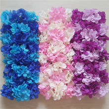 simulation hydrangea flower wall road leading decorative display artificial fake silk wreath