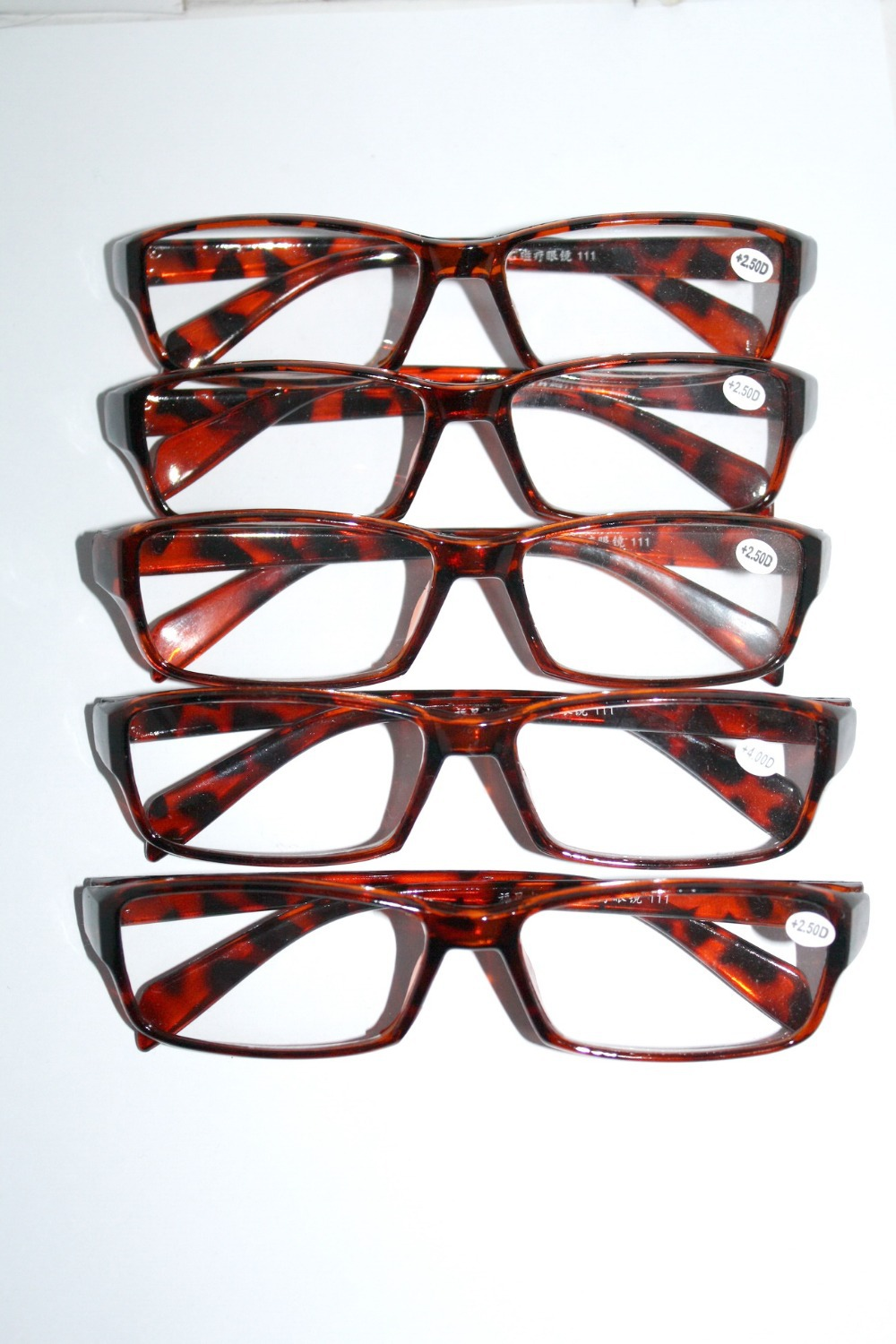 00810ebc6b25  FIVE PAIRS (mix strength ok) WHOLESALE  RECTANGULAR classic JOBLOT  discount reading glasses +1 +1.5 +2 +2.5 +3 +3.5 +4 033-in Reading Glasses  from Apparel ...