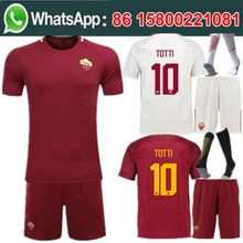 7afb00b9bbb Free shipping 17/18 Adult new football jersey kit socks 2017 2018 man roma  3rd kit best quality camisetas Soccer jersey