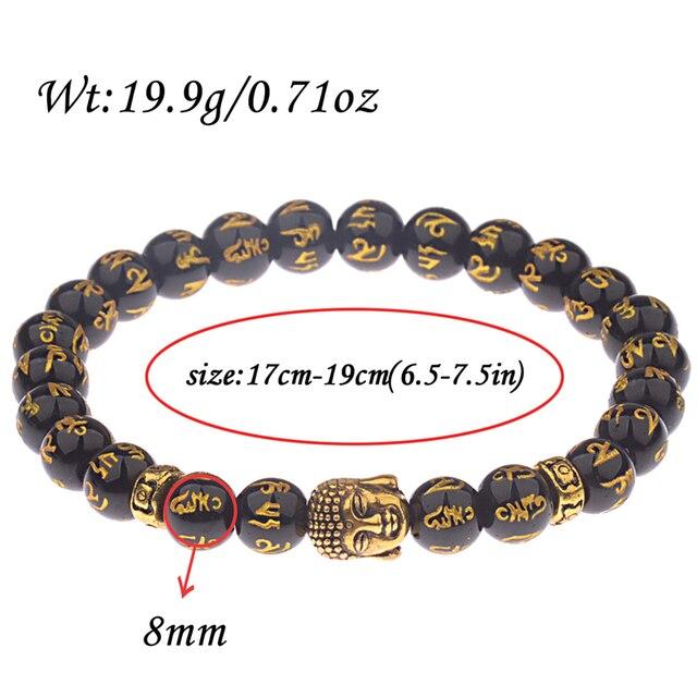 Купить douvei эластичные буддистские браслеты из бисера для мужчин
