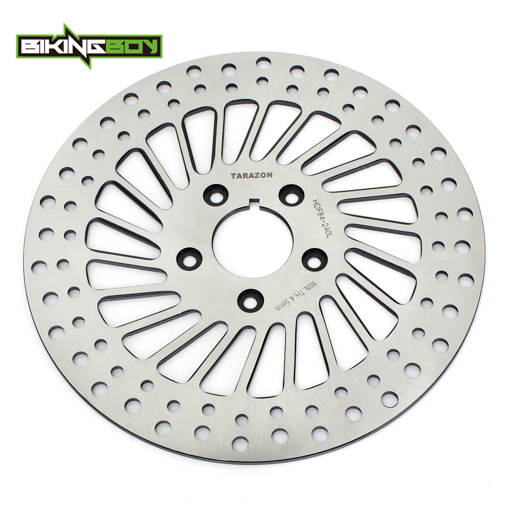 BIKINGBOY Front Brake Disc Rotor For Harley Sportster 883 1000 1100 1200 XLH FXDB FXDWG FLST