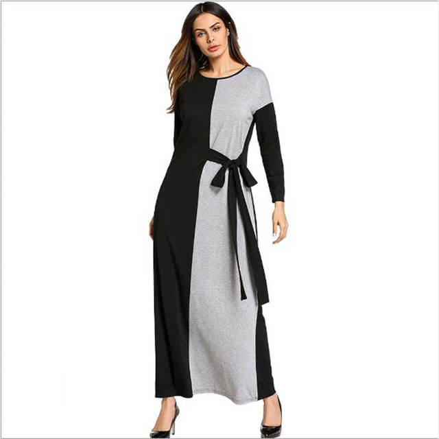 a1a0ddb2dd Muslim Cotton Abaya Long Robe Gowns Maxi Dress Kimono Tunic Vintage Jubah  Ramadan Arabic Turkish Islamic Prayer Clothing QC540