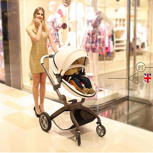 Free shipping New arrival four wheel baby stroller egg shape folding trolley buggiest baby cart shock absorbers baby carriage serok ikan