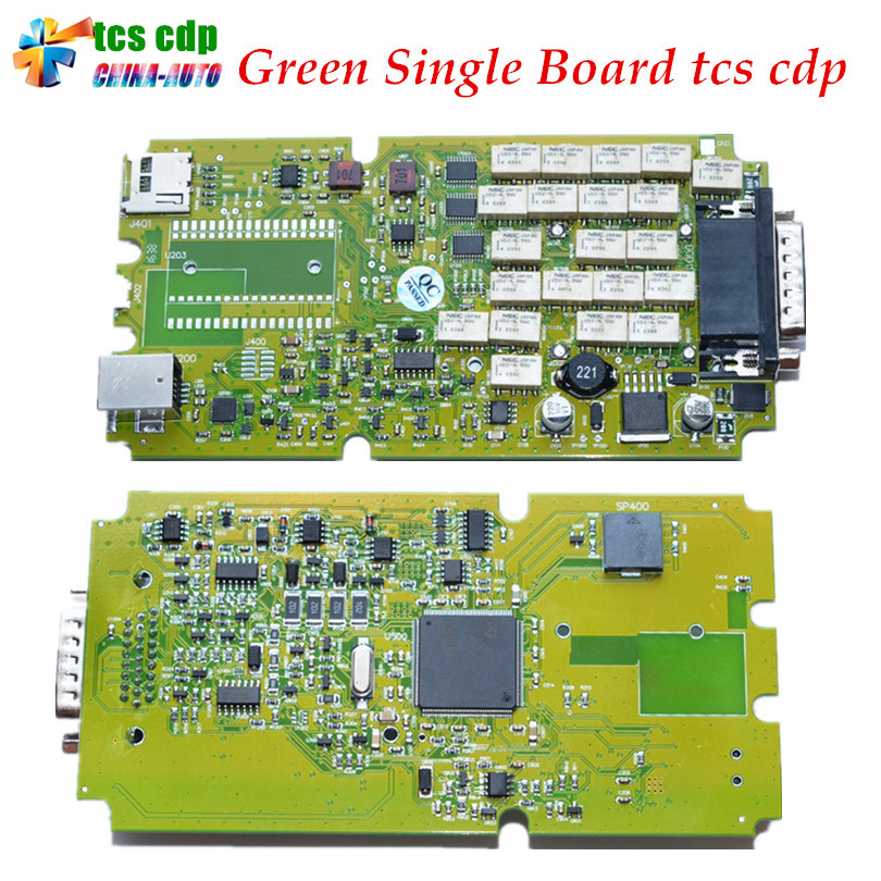 ФОТО Best Quality Latest 2015.1 /2014.2 with Keygen Single Green PCB board TCS CDP Pro with Bluetooth cars&Trucks Diagnostic Scanner