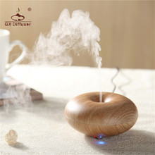 GX.Diffuser 160ml Steam Air Ultrasonic Humidifier Essential Oil Aroma Diffuser Electric Air Purifier for Home & Office Appliance(China)