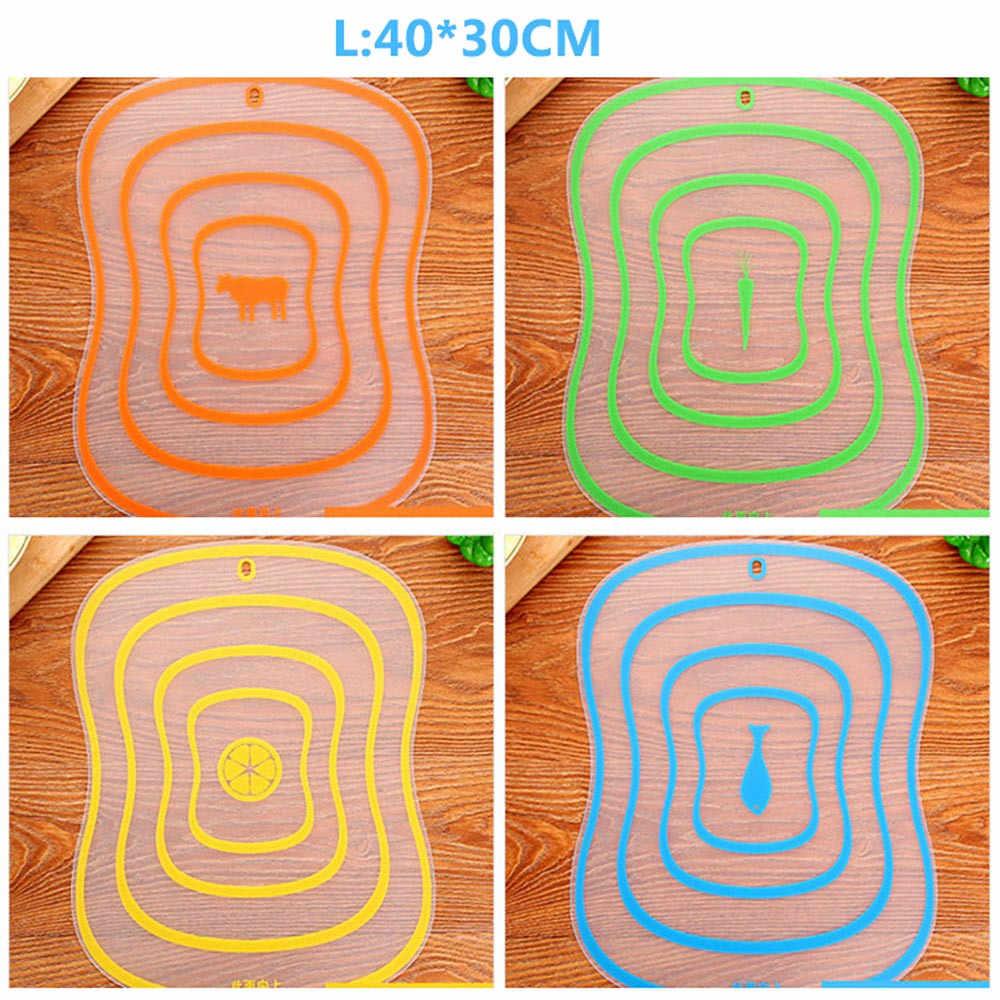 1 pc gordura esfrega categoria placa de corte antiderrapante fricção de frutas painel de cozinha gadgets ferramentas cortar blocos 0.53-0.91-1.22