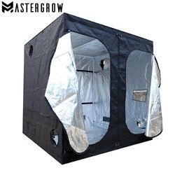 MasterGrow 200X200X200cm kryty namiot do uprawy hydroponicznej  pomieszczenie do uprawy roślin  odblaskowe Mylar nietoksyczny ogród szklarnie