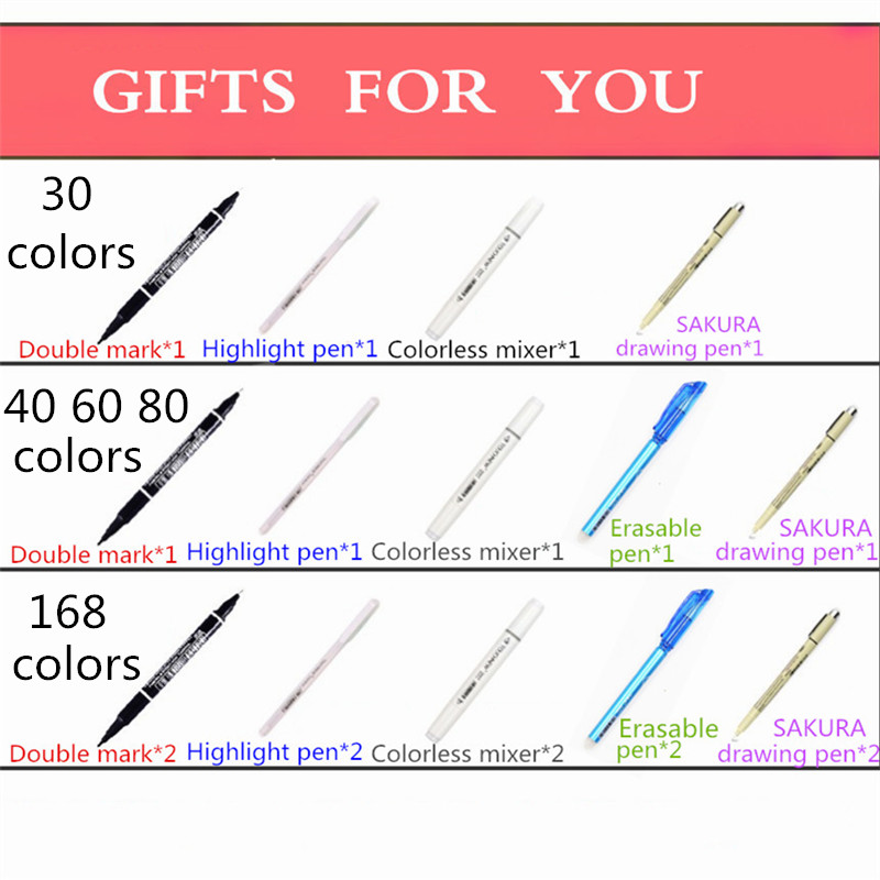 Image 2 - TOUCHNEW 168 Colors Artist Painting Manga Art Marker Pen Head Alcohol Art Sketch Graffiti Fineliner Markers Set Markers Designer-in Art Markers from Office & School Supplies