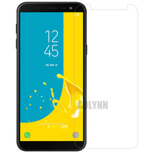 2PC 9H Upgrade Hardness Real Tempered Glass For Samsung Galaxy J6 (2018) J600 SM-J600F J600G J600FN Screen Protector Film