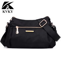 The New Multi Layer Nylon Shoulder Bag Handbag Leisure Nylon Satchel Is One Generation