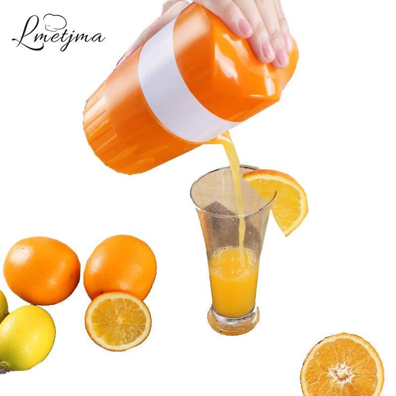 LMETJMA Hand Drücken Manuelle Entsafter PP Orange Entsafter Manuelle Orange Squeezer Zitrone Saft Presse Obst Werkzeuge KC0324-7