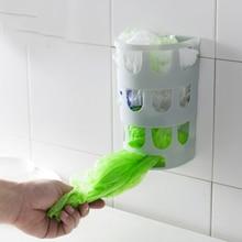 Продуктовый Мешок Держатель Диспенсер, продуктовый Пластиковый Мешок Ящик Для Хранения Настенное Крепление Кухня Организатор Утилизации Пластиковых Хозяйственная Сумка Хранения(China (Mainland))