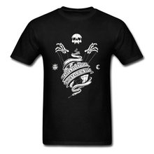 3D Skull Tee-Shirts Mens Top T-shirts Foolishness Of Mortals Short Sleeve Summer Men T Shirt Round Neck All Cotton Streetwear(China)