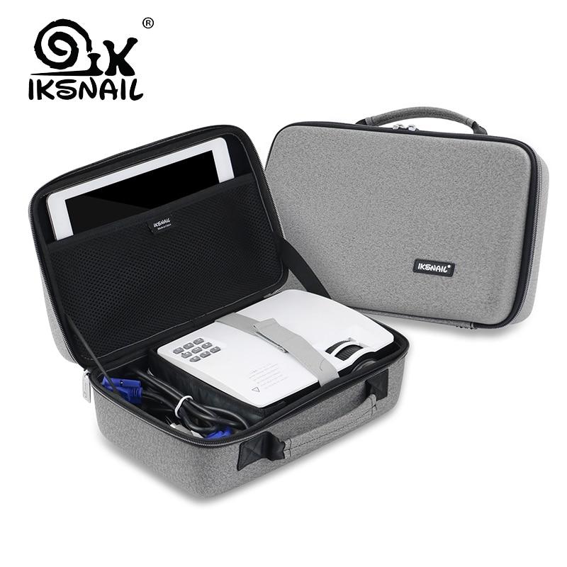 IKSNAIL LED Projecteur Sac Pour Xgimi Z3 GP70 AKEY1 C80 AUN Mini Support Plus Projecteur Accessoires Protection Portable Sac