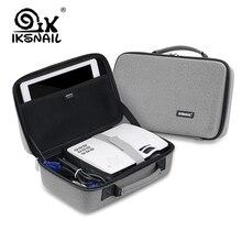 IKSNAIL СВЕТОДИОДНЫЙ Proyector сумка для Xgimi Z3 GP70 AKEY1 C80 Аун мини Поддержка наиболее проектор аксессуары Защитная Портативный сумка