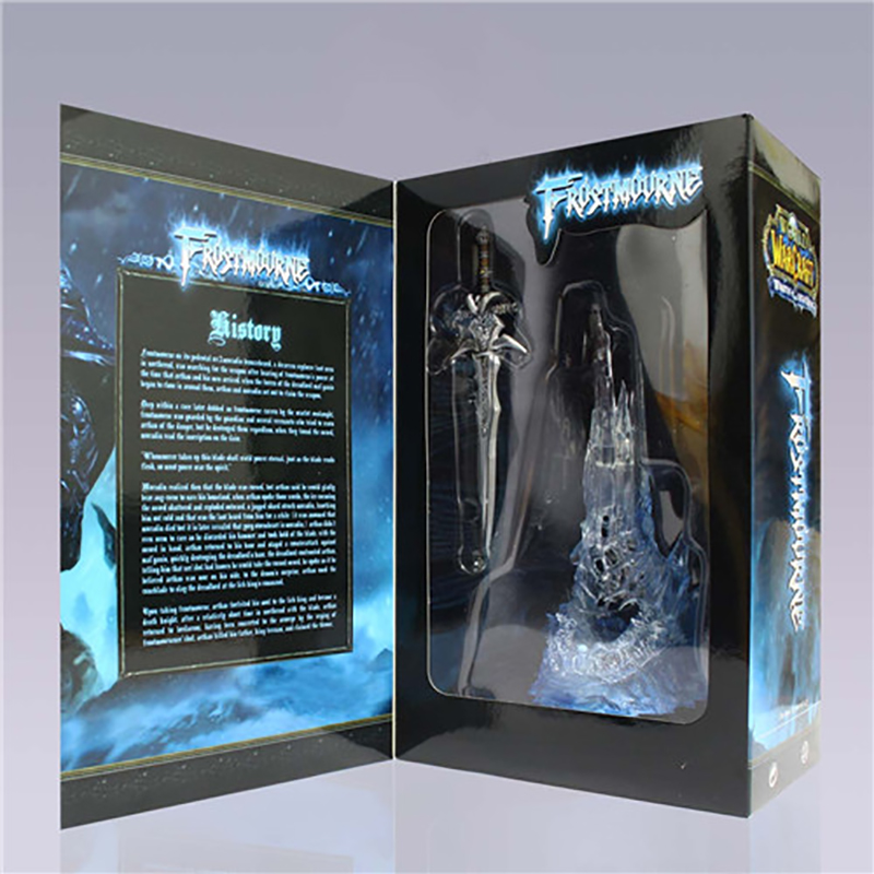 Image 5 - wow Arthas Menethil's Weapon Frostmourne Sword with LED Lighting Figma Starz PVC Action Figure Toy-in Action & Toy Figures from Toys & Hobbies