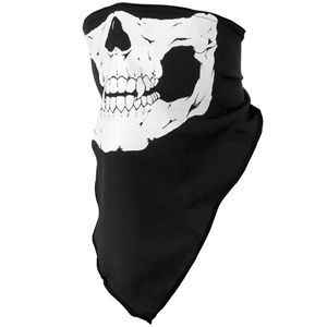 1pcs Cycling Neck Tube Kerchief Scarf Outdoor Sports Riding Face Mask Skull Bandanas Halloween Cosplay Scarves Wicking Seamless