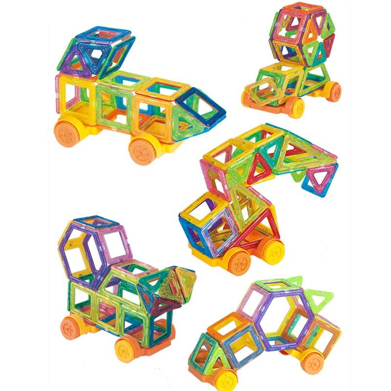 136pcs Mini Magnetic Building Bricks Kids Toys Similar