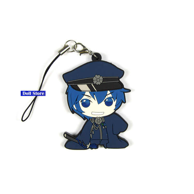 Hatsune Miku Original Japanischen anime figur gummi Silikon süße geruch handy charme/schlüssel kette/strap D252