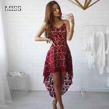 Новинка, кружевные платья без рукавов, вечерние платья, красное летнее сексуальное пляжное свадебное платье размера плюс, винтажное красное платье с v-образным вырезом