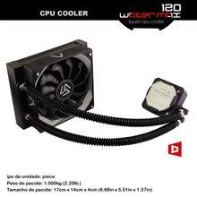 ALSEYE PWM CPU Enfriador De Agua 120mm Ventilador de Refrigeración Por Agua Del Radiador TDP 280 W De Aluminio Del Disipador de calor ventilador de la cpu para AM4/e5450/i7 6400 t