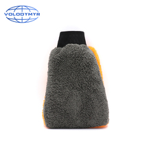 Car Wash Glove Mitt Scratch Free Chenille Waterproof Cleaning Detailing Auto Accessories Tools