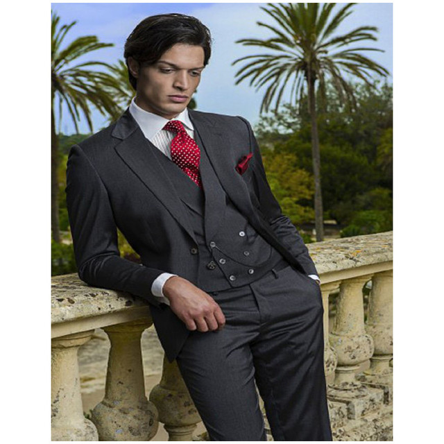 Italian Wedding Suits And Morning Coats Groom Tuxedos Groomsman ...