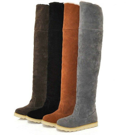 Hot Sale New Brown And Black Snow Boots For Women,Fashion -2927