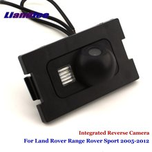 Liandlee For Land Rover Range Rover Sport 2005-2012 Car Rear View Backup Parking Camera Rearview Reverse Camera / SONY CCD HD leewa car reverse rear view camera for land rover freelander 2 discovery 3 4 range rover sport ca1281