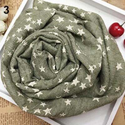 Горячая Распродажа; детская теплая шаль со звездами и пентаграммой для девочек; сезон осень-зима; подарочные накидки; мягкий шарф; N83Y 7FYA - Цвет: 3