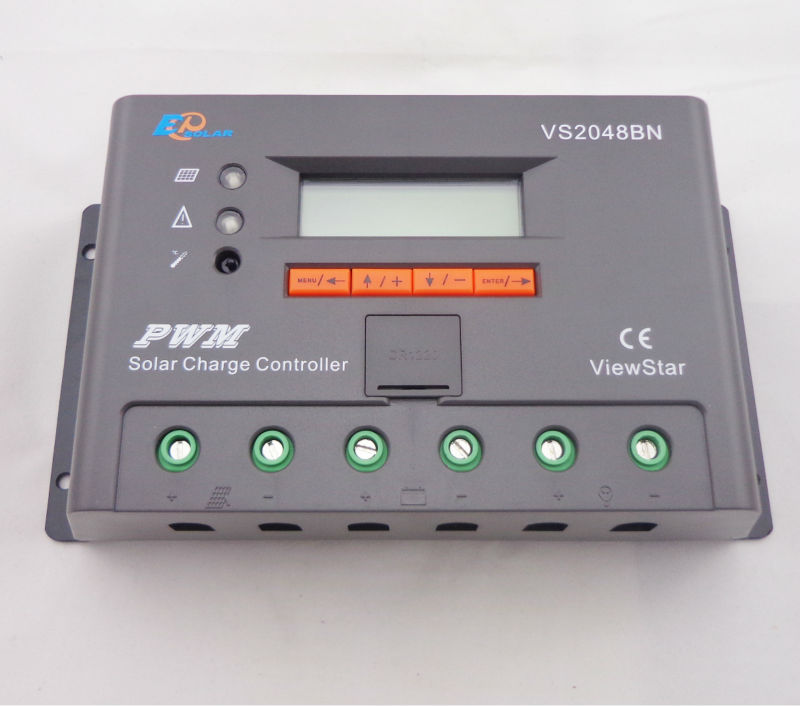 VS2048BN 20A 24/48V auto PWM Controller Network Access Computer Control can connect with MT50 for communication  vs4548bn 45a 24 48v auto pwm controller network access computer control can connect with mt50 for communication