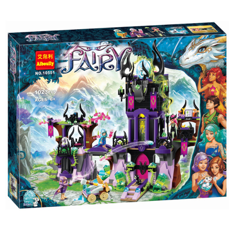 2017 New Bela10551 Elves Wizard Series 41180 Laguna Dark Magic Castle Diy Blocks Toys Compatible with Lepin 41180 Block Toys 10551 elves ragana s magic shadow castle building blocks bricks toys for children toys compatible with lego gift kid set girls