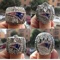 Frete Grátis 2001 2003 2004 2014-2015 New England Patriots SUPER BOWL Anel de Campeão Mundial 4 conjunto de alta qualidade conjunto